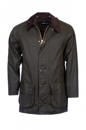 Barbour - Barbour Classic Beaufort Wax Jacket OL71 Olive