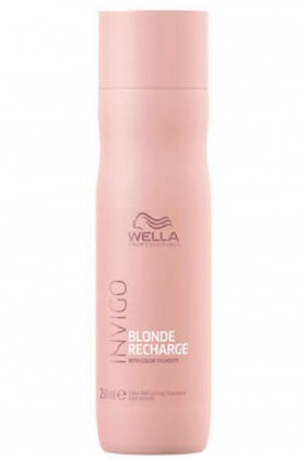 Wella - Wella İnvigo Blonde Recharge Şampuan 250 ml