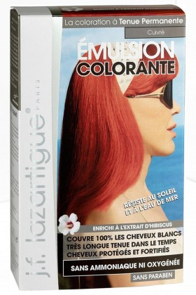 J.F. Lazartigue - J.F Lazartigue Colouring Emulsion Copper Saç Boyası 60 ml
