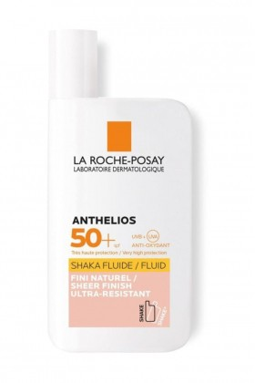 La Roche  - LA ROCHE POSAY Anthelios Shaka Tinted Fluid SPF50+ 50 ml - Normal, Karma Ciltler