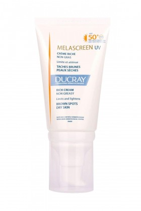 Ducray - DUCRAY Melascreen Photoprotection Rich Cream SPF50+ 40 ml - YENİ ÜRÜN