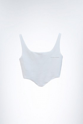 Muse and Mood - Melpomene Bustier Offwhite